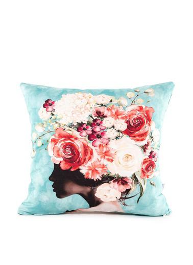 Firuze Home&Bath 2'li Kırlent Romantic Dreams Renkli